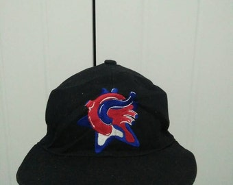Rare Vintage PHENOMENON Big Logo Embroidered Cap Hat Free size fit all