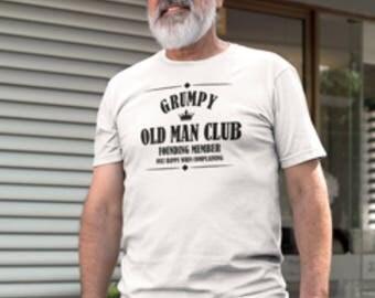 Grumpy old man club t-shirt, Grumpy old man t-shirt, Grumpy old man print, Grumpy old man club, t-shirt for Grumpy old men, old man club.
