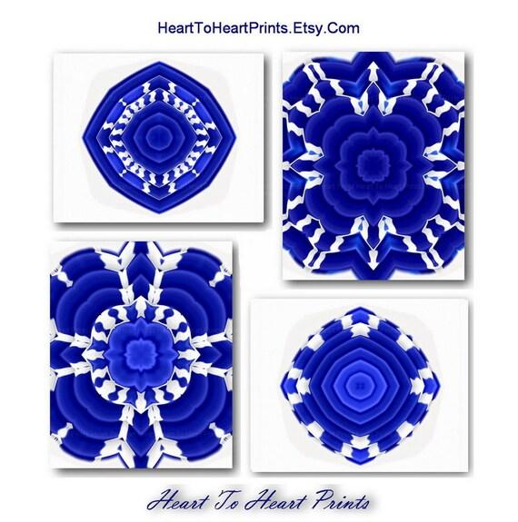 Blue Wall Art Navy Cobalt Blue Art Prints Cobalt Home Decor