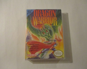 Dragon Warrior Custom NES Nintendo Case (NO GAME)