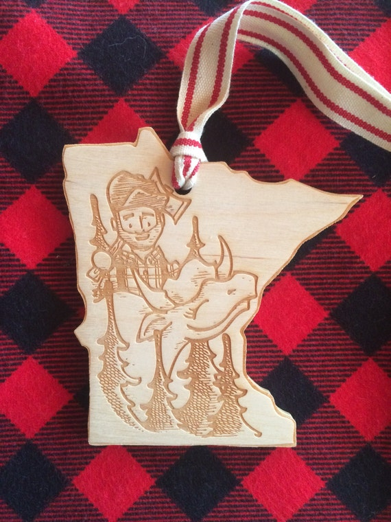 Paul and Babe Ornament
