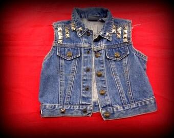social distortion 3 - 6 months punk vest