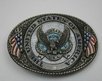 Great American Products Belt Buckle Eagle