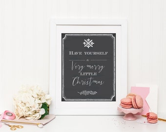 Very Merry Christmas Wall Print