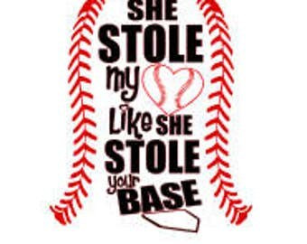 She stole my heart like she stole your base SVG