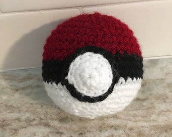 Crochet Pokéball - Large