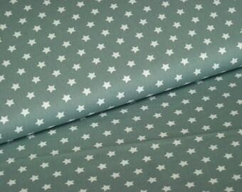 BW fabric garda with white stars