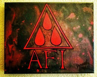 AFI -Blood Album painting
