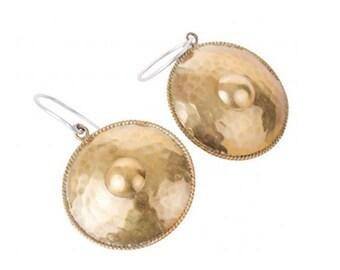 Boho earring, brass. Messingschmuck, Ohrhänger, Ethno Style, Klassisch, mediterran