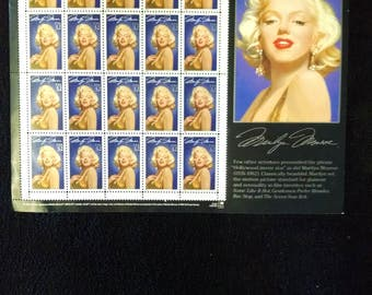 2 sheets of 20 1995  MARILYN MONROE postage stamps; Mint condition