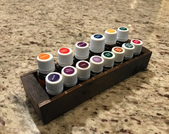 Essential Oil bottles or Nail Polish Mini Crate