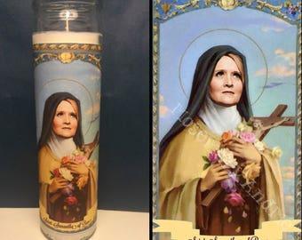 Samantha Bee Devotional Prayer Saint Candle