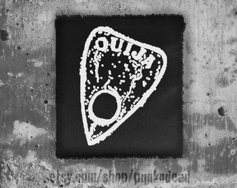 Ouija Patch • goth patch • punk patches • cult patches • fabric • custom patches • sew on patches