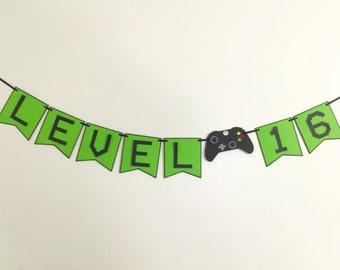 Xbox birthday banner
