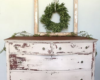 French Farmhouse Dresser •Custom Shipping Entered For Customer Purchase•