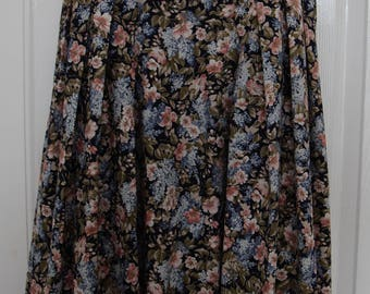 Vintage Laura Ashley Floral Summer Dress