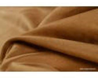 Suedette furnishings grnade beige x50cm width