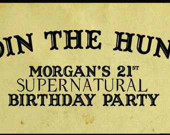 Supernatural Facebook Event Cover Photo