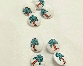 Naj-oleari vintage fabric covered buttons