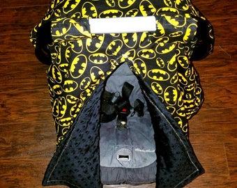Batman Car seat Canopy