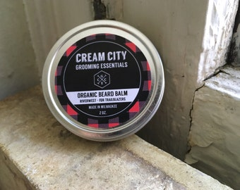 Beard Balm - Organic Riverwest | by Cream City Grooming Essentials
