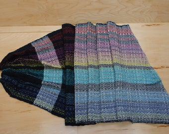 Ring sling Asymetrical rainbow