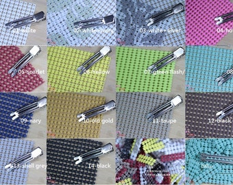 F30421-about 95x140mm (Pick color, 1pcs) Non Slip Grips Liners for Alligator Clips.(5g)