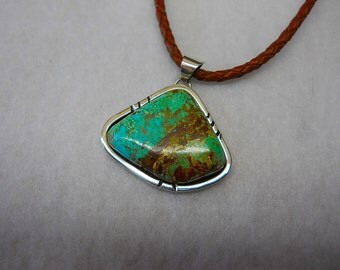Turquoise Pendant From The Number Eight mine...