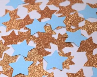 Twinkle Twinkle Little Star, Baby Shower Decorations, Baby Shower Confetti, Star shape decorations, Twinkle Twinkle Party Decorations, Boy