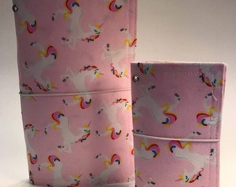 Unicorn Mommy 'n Me Traveler's Notebook with Inserts