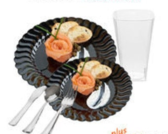 Flaired Black VALUE Party Package for 10 guests