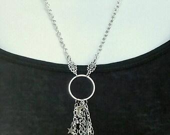 birth moon necklace etsy