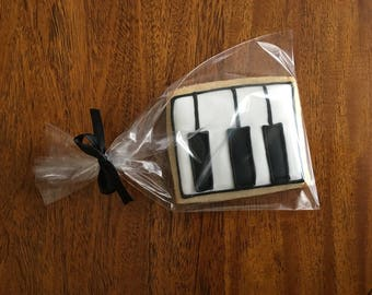 Royal Icing Cookies, Musical Instrument Cookies, Music Icing Cookies, Piano Cookies, Music cookies