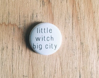 Little Witch Big City Pin