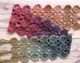 Handmade Rainbow Lace Scarf (OOAK)