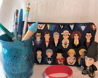 Dr Who Pen Pouch... Make Up Bag... Toiletry Bag
