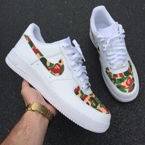 Bape shoes white dress