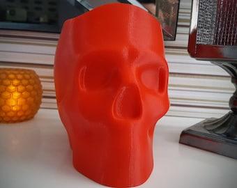 3D Printed Skull Halloween Candy Dish
