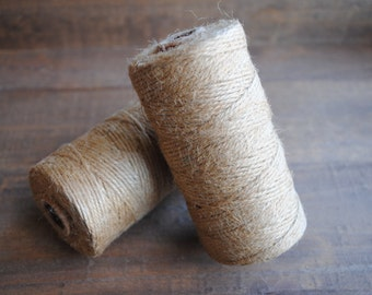 Natural Jute Bakers Twine 100yds of 12Ply gift wrap | twine | crafters twine | birthday | bachelorette | christmas | string |