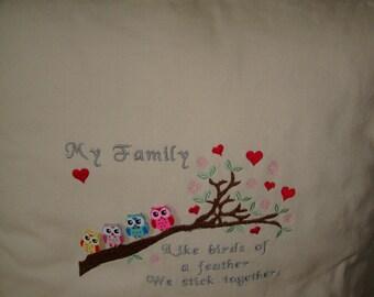 Owl Tree Cushion