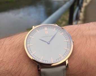 Karlson Laith Origin Grey & Rose Gold