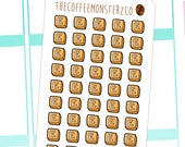 Etsy Button Stickers  ( planner stickers )