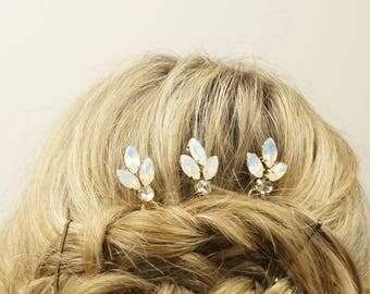 Swarovski Bobby Pin, Fancy Bobby Pin, Wedding Hair pins, Wedding hair Accessories, Bridal Bobby Pins, Wedding bobby pin, Bridesmaids gift