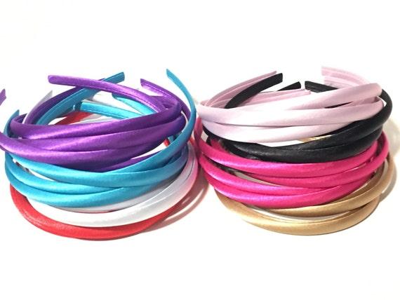 10mm Satin Headbands Wholesale Headband Baby Headband