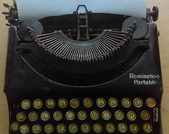 Antique, 1923's Remington Portable  Type Writer