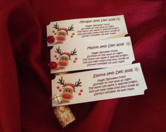 Handmade Magic Personalised Reindeer Food