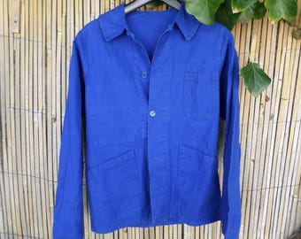 50% discount! Work jacket, overalls. Work clothing, blue of heating. size 38 or S.