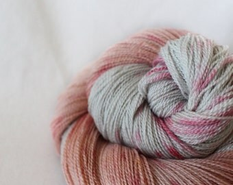 Snuggle - Pipit - 80/20 non-superwash merino/ silk laceweight yarn