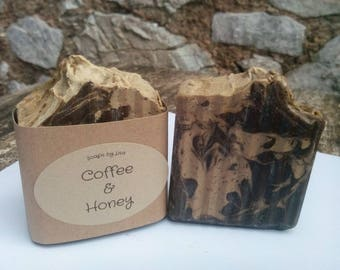 Handmade Natural Coffee & Honey Soap