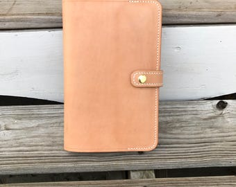 Leather Notebook Cover for A5 Notebook